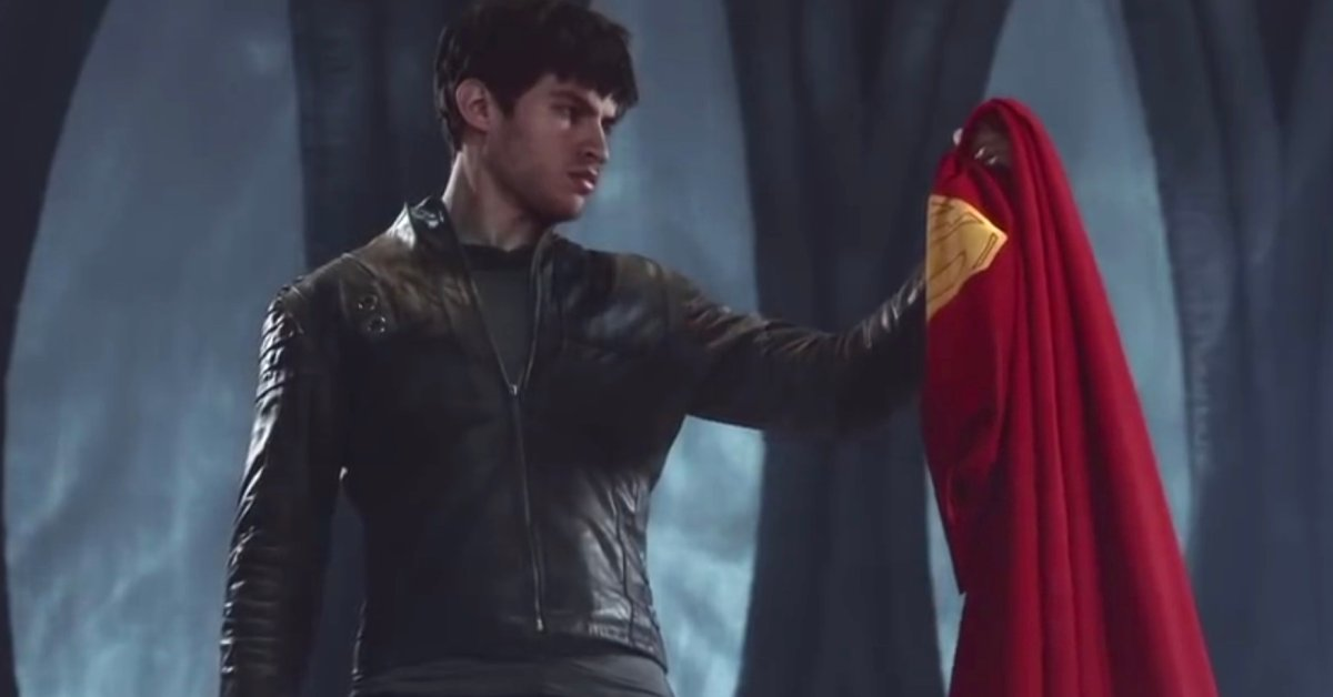 Superman Cape - Krypton TV Series - Cameron Cuffe