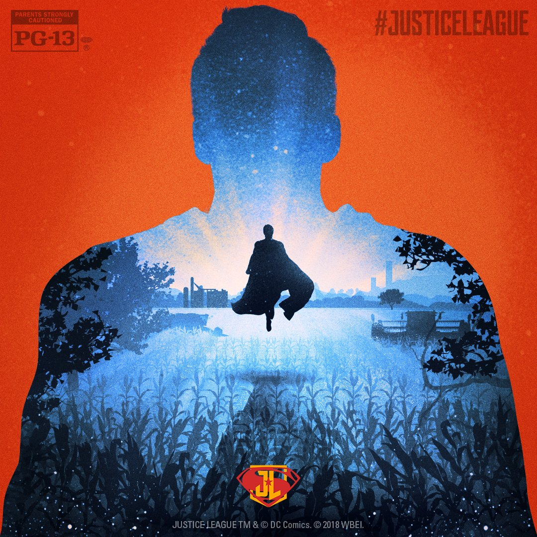Superman Justice League poster