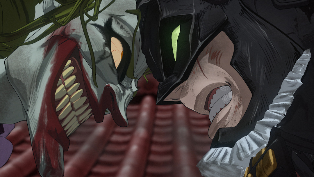 Batman And The Joker Sword Fight In New Batman Ninja Clip Batman News
