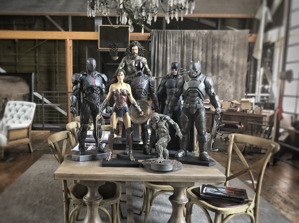 Batman v Superman unused costumes