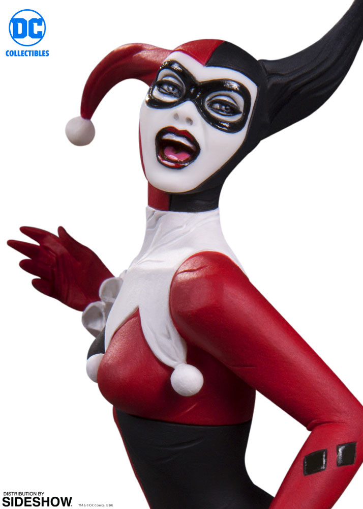 DC Collectibles Harley Quinn by Jim Lee Red Black and White Statue