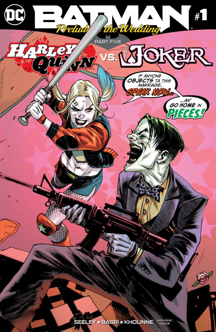 Image result for batman prelude to the wedding harley vs joker #1