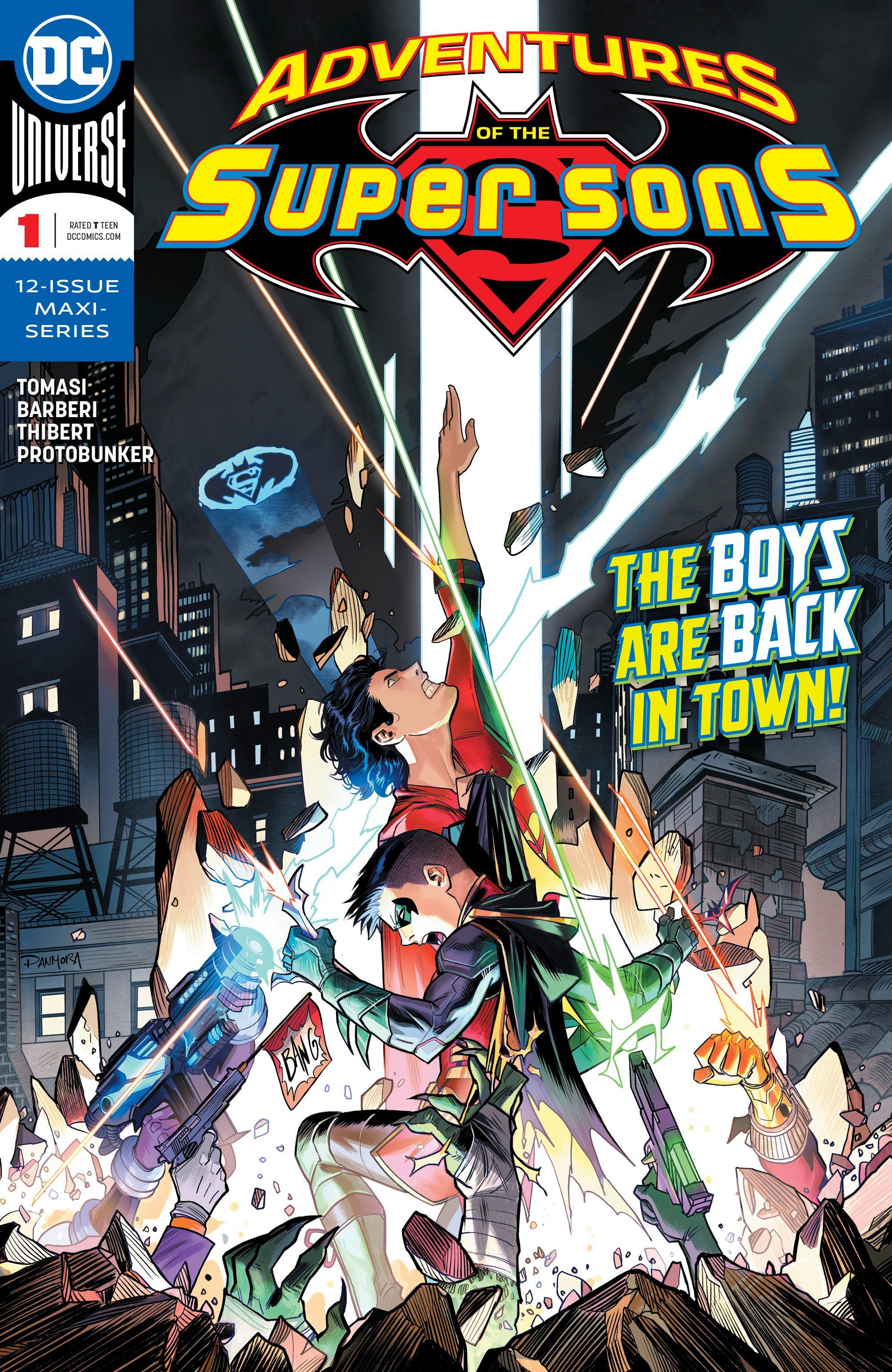 Adventures Of The Super Sons 1 Review Batman News Marvel Boys