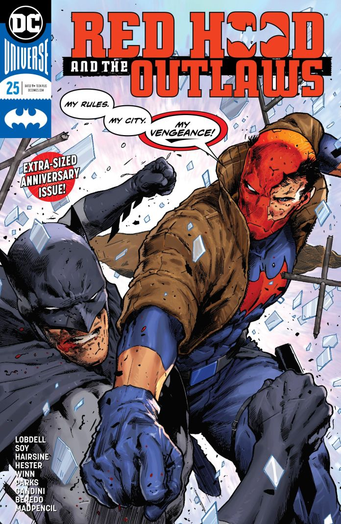 red hood and the outlaws 25 review batman news