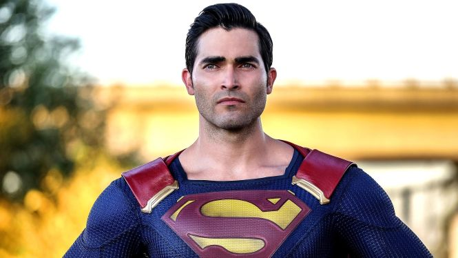 """Supergirl -- """"The Last Children of Krypton"""" -- Image SPG202a_0169 -- Pictured: Tyler Hoechlin as Clark/Superman -- Photo: Robert Falconer/The CW -- © 2016 The CW Network, LLC. All Rights Reserved"""