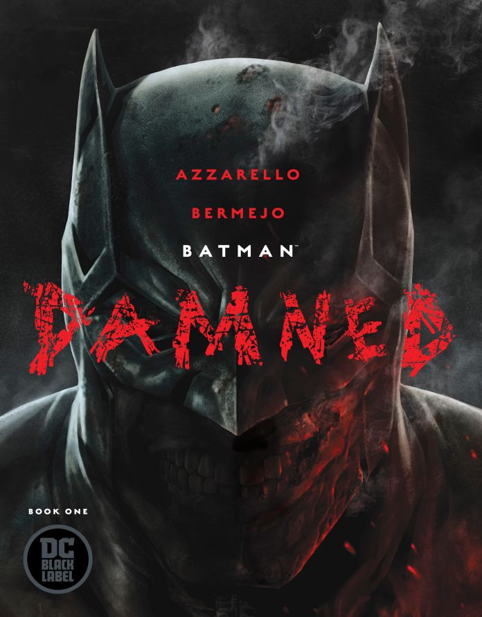 BATMAN DAMNED 1, batman, azzarello, bermejo, jim lee, alex sinclair, dc black label, bruce wayne, bruce wayne penis