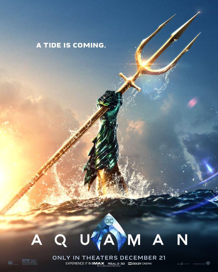 Jason Momoa Shares New 'Aquaman' Poster, Teases Something
