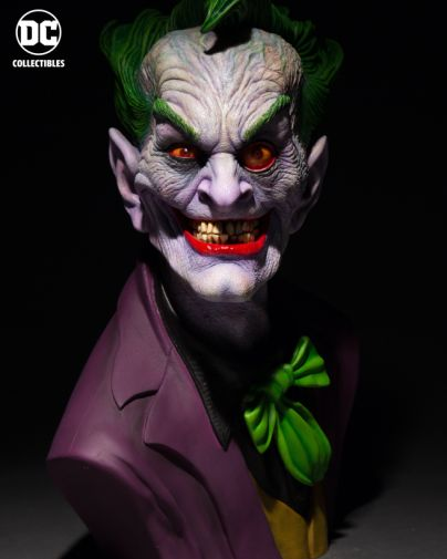DC Collectibles - Rick Baker Joker Bust - Ultimate Edition - 03
