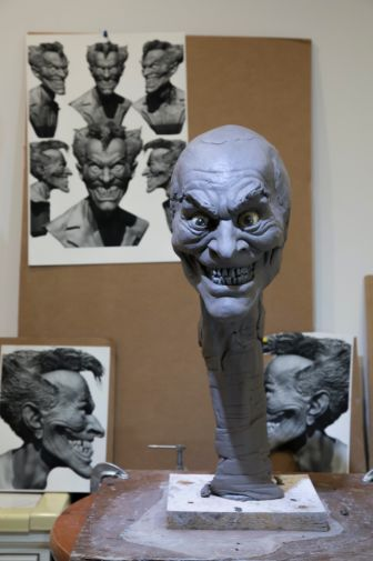 DC Collectibles - Rick Baker Joker Bust - Work in Progress - 04