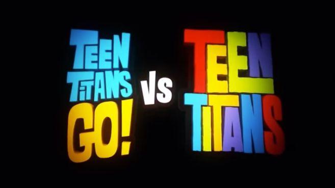 Teen Titans Go vs Teen Titans logo - Teaser Trailer