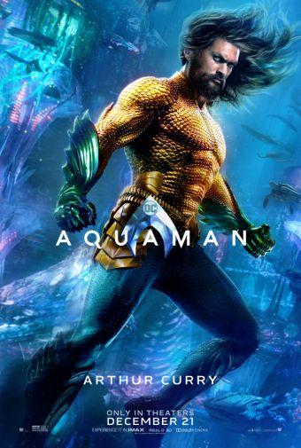Aquaman - Chraracter Posters - Arthur Curry