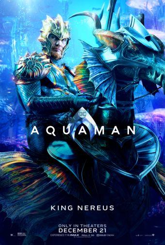 Aquaman - Chraracter Posters - King Nereus