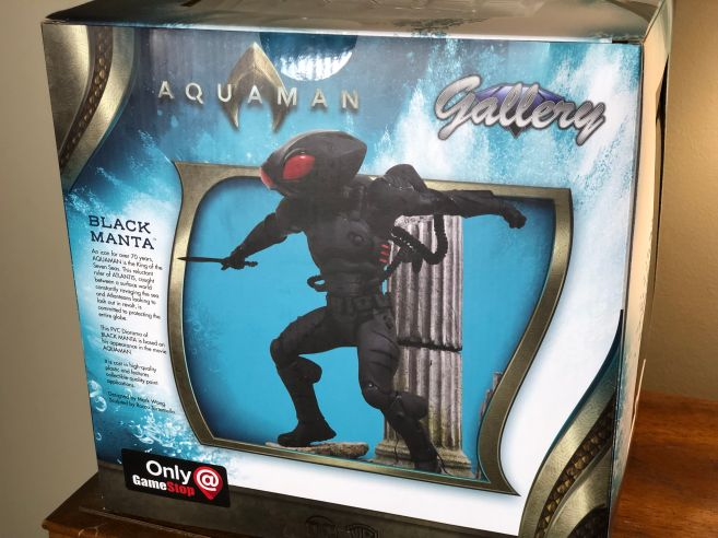 Diamond Select Toys Aquaman Gallery Black Manta review