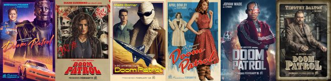 Doom Patrol - Official Images - All Character Posters - 01