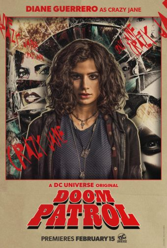 Doom Patrol - Official Images - Character Posters - Diane Guerrero - Crazy Jane - 01