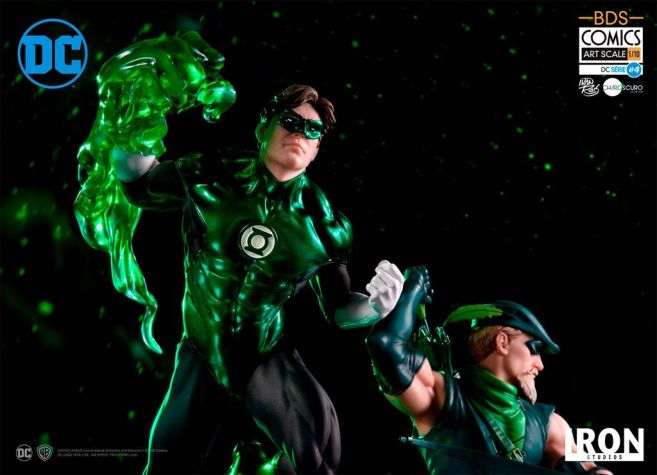 Iron Studios - DC Comics - Green Arrow and Green Lantern - 02