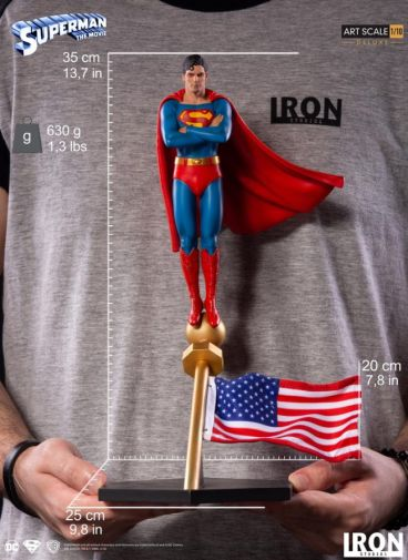 Iron Studios - DC Comics - Superman The Movie - 11