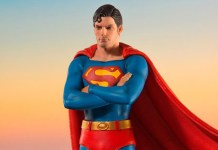 Iron Studios Superman the Movie Statue Recreates Iconic Moment