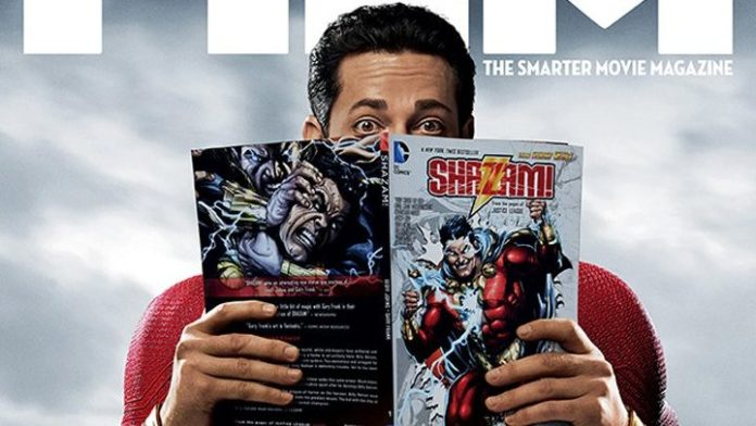 Shazam Is His Own Biggest Fan In Total Film Subscriber Cover