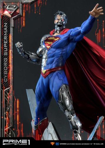 Prime 1 Studio - Superman - Cyborg Superman - 01