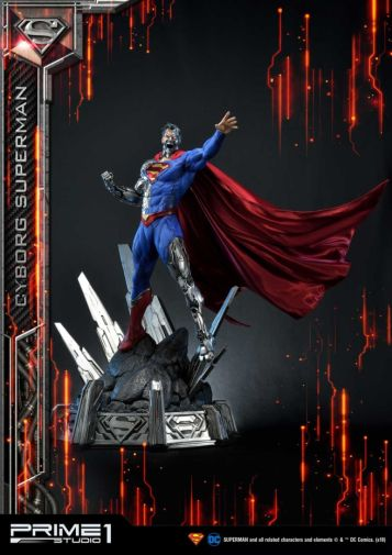 Prime 1 Studio - Superman - Cyborg Superman - 02