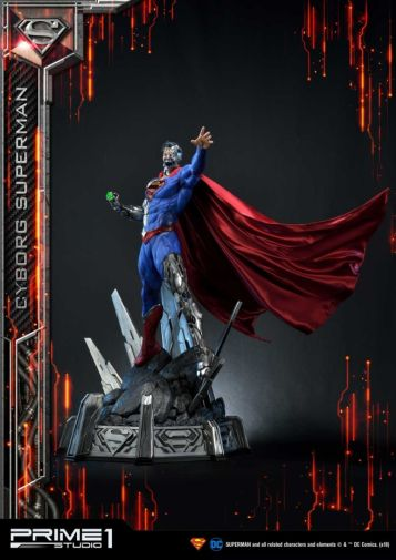 Prime 1 Studio - Superman - Cyborg Superman - 05