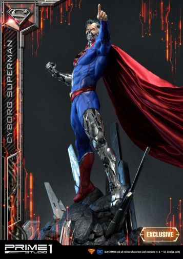 Prime 1 Studio - Superman - Cyborg Superman - 13