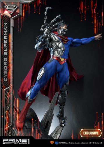 Prime 1 Studio - Superman - Cyborg Superman - 15