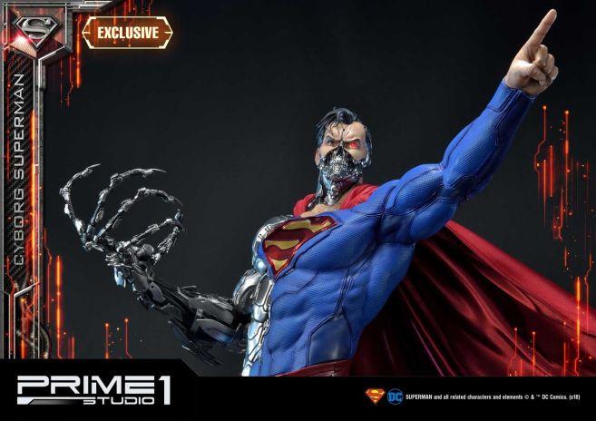 Prime 1 Studio - Superman - Cyborg Superman - 16