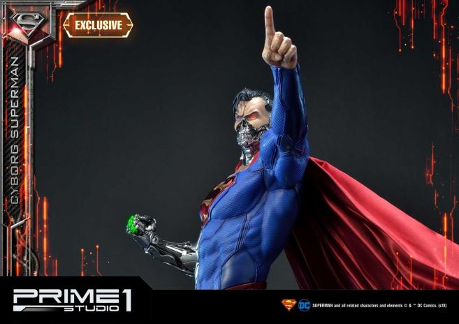 Prime 1 Studio - Superman - Cyborg Superman - 17