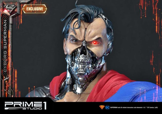 Prime 1 Studio - Superman - Cyborg Superman - 19