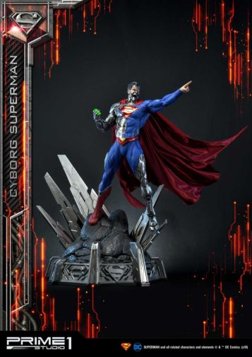 Prime 1 Studio - Superman - Cyborg Superman - 23