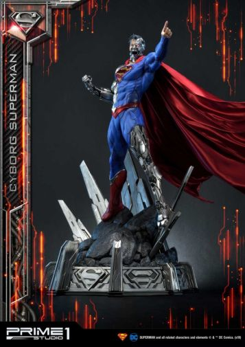 Prime 1 Studio - Superman - Cyborg Superman - 29