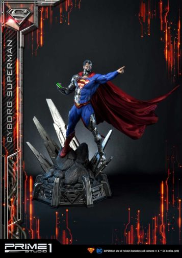 Prime 1 Studio - Superman - Cyborg Superman - 31
