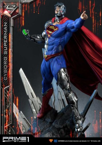 Prime 1 Studio - Superman - Cyborg Superman - 34