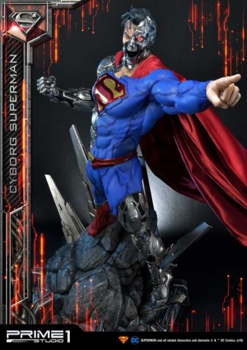 Prime 1 Studio - Superman - Cyborg Superman - 36