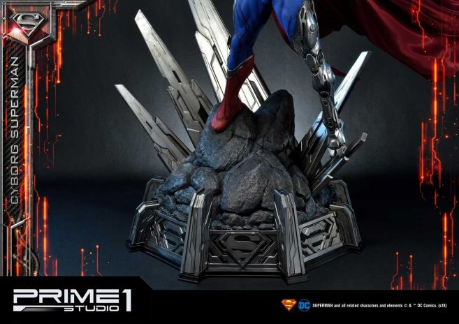 Prime 1 Studio - Superman - Cyborg Superman - 40