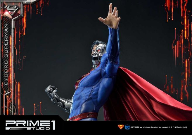 Prime 1 Studio - Superman - Cyborg Superman - 41