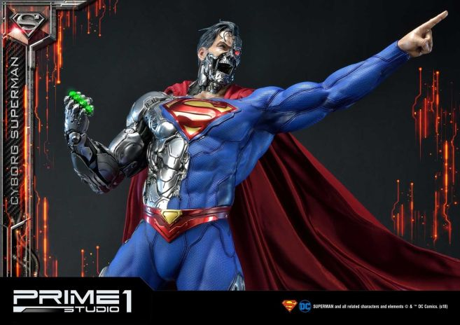 Prime 1 Studio - Superman - Cyborg Superman - 42