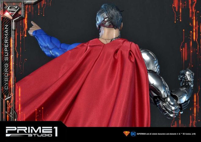 Prime 1 Studio - Superman - Cyborg Superman - 43