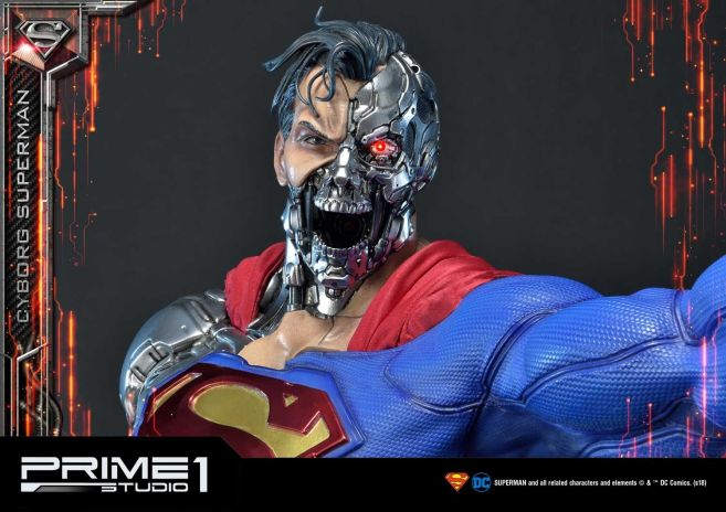 Prime 1 Studio - Superman - Cyborg Superman - 46