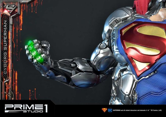 Prime 1 Studio - Superman - Cyborg Superman - 47