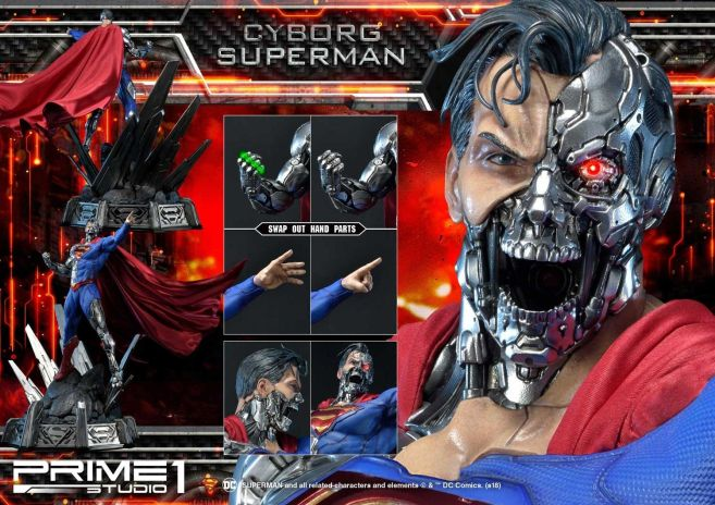 Prime 1 Studio - Superman - Cyborg Superman - 48
