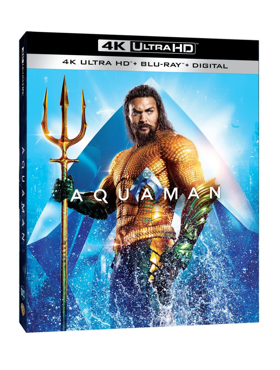 Shazam Aquaman Get New Magazine Covers: Aquaman Home Video Release Dates Announced For Blu-ray And