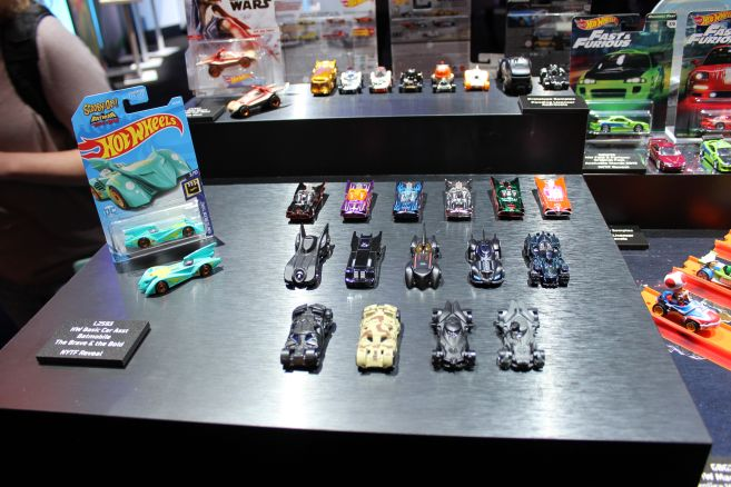 Mattel - Toy Fair 2019 - Hot Wheels - Batmobiles - 01