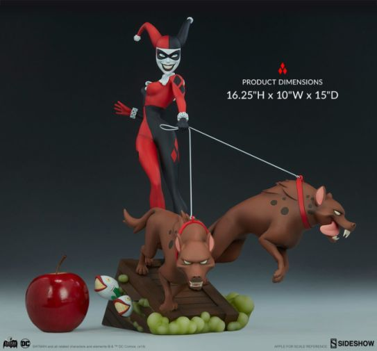 Sideshow - Batman the Animated Series - Harley with Hyenas - 09