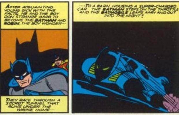 Batman #5 - First Bat-Themed Batmobile