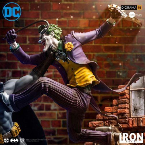 Iron Studios - Batman - Batman cs Joker Battle Diorama - 07