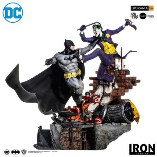 Iron Studios - Batman - Batman cs Joker Battle Diorama - 13