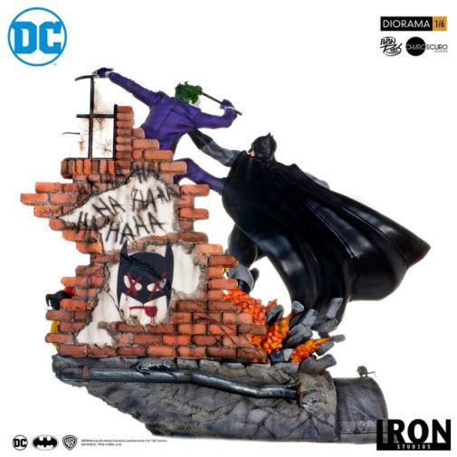 Iron Studios - Batman - Batman cs Joker Battle Diorama - 15